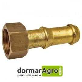 Złącze pompy, proste, mosiężne Ø 19 mm Unia pilmet