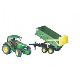 Traktor John Deere 6920 z przyczepą zabawka