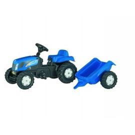 Traktor New Holland z przyczepą zabawka
