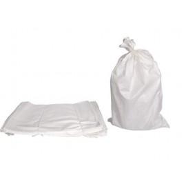 Worki zbożowe 10kg - białe