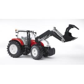 Traktor Steyr CVT 6230 z ładowaczem zabawka