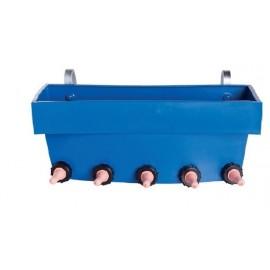 Poidło dla cieląt z 5 smoczkami CN5