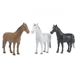 Konie zestaw 16 sztuk w 3 kolorach