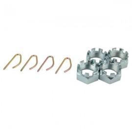 Nakrętki koronkowe z zatyczką, ADR, M39 x 1,5
