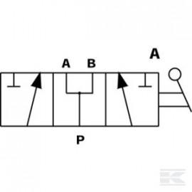 Kurek 3-drożny, otwór T 1/2 BSP