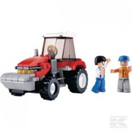 Zestaw klocków-traktor