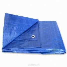 Plandeka niebieska Parol, 4 x 6 m